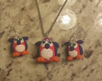 Owlette Jewelry Set
