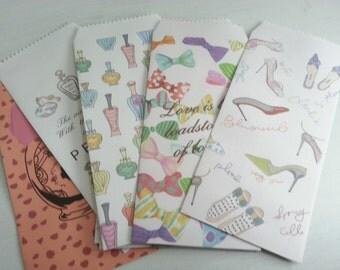 Girl's Love  Envelope - 10 Envelopes