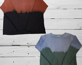 Acid Wash Sweatshirt Ladies / Women size