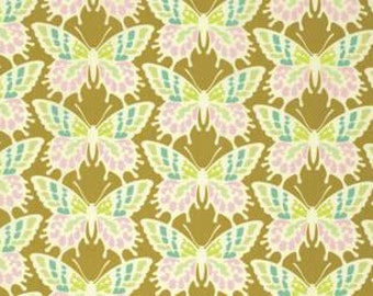 Heather Bailey Clementine 'Flutterby' in Ginger Cotton Fabric