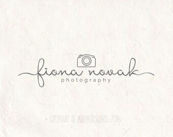 camera script template - photography logo camera logo design watermark logo diy