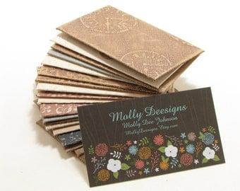Weathered Texture/ miniature envelopes/ gift card envelopes/ business card envelopes/ set of 19