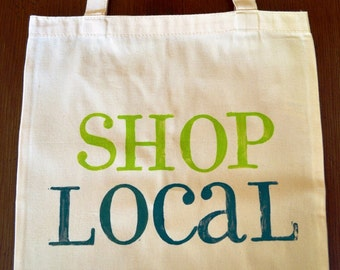 Canvas Tote - Shop Local
