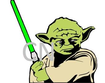 Yoda- Star Wars SVG