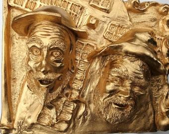 Don Quixote & Sancho Panza, Men of La Mancha Sculpture