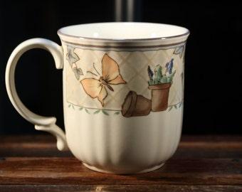 "Vintage Mikasa Coffee Mug ""Harvest Classic"" # DS312 - 4 x 4 inches"