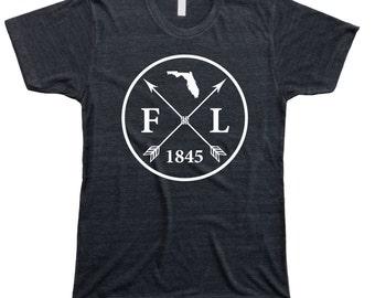 Homeland Tees Men's Florida Arrow T-Shirt