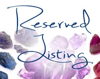 Reserved Listing for Jade for 2 Pet Charms, Fluorite and Quartz Crystal