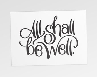 All Shall Be Well (Digital Download)