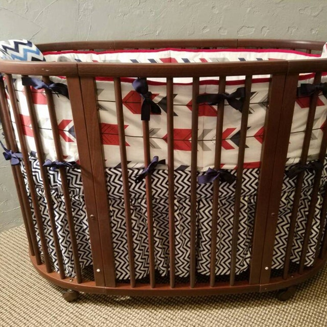 Oval Round Or Corner Crib Bedding Bassinet Sheets By