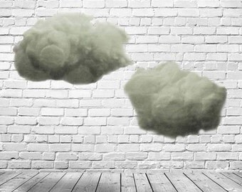 2 Big Puffy Clouds Prop - Ships Free in US