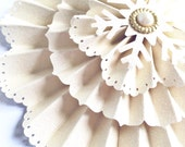 handmade paper snowflake