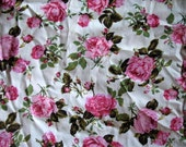 Reserved for Kathy - Piece of English printed cotton lawn (identical to Liberty lawn) rose print