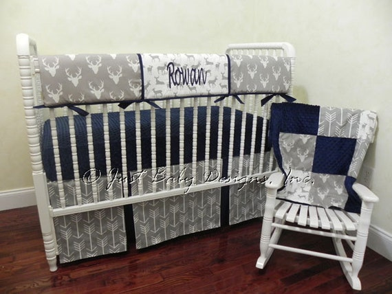 baby boy bedding set rowan boy crib bedding crib rail 19968 | il 570xn 1065735577 d4x3