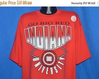 July XMAS SALE 90s NWT Indiana University Hoosiers Go Big Red t-shirt Xxxl