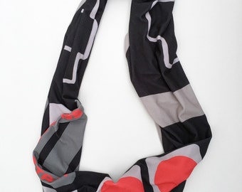 NES controller infinity scarf