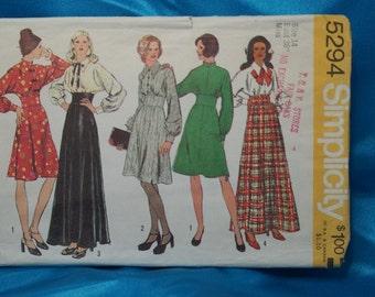 Vintage Misses' Dress Pattern