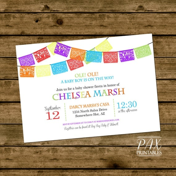 Mexican Party Invites with luxury invitation sample