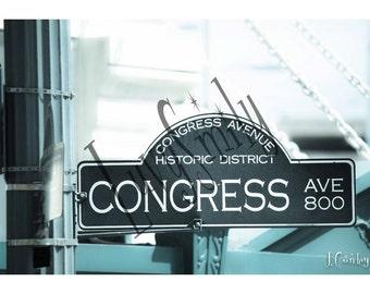Congress Avenue Photograph
