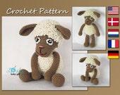 Amigurumi Pattern, Lamb, Sheep, Easter Animal Crochet Pattern, CP-148