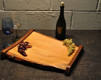 Sour & Black Walnut Wood Serving Tray