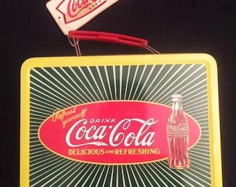 Coca Cola small lunch box tin