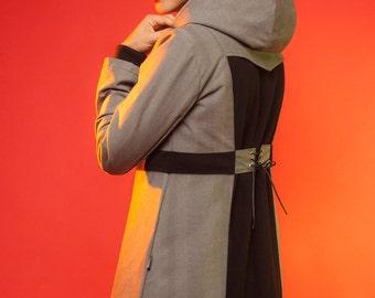 Coats Kaflox gray denim