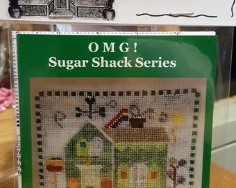 MARCH LOLIPOP Lodge Cross Stitch Chart OMG #23 Counted Confections - St Patricks Day Irish