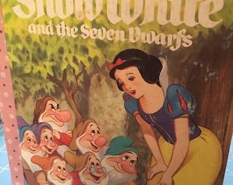Snow White Little Golden Book Art Journal FREE SHIPPING
