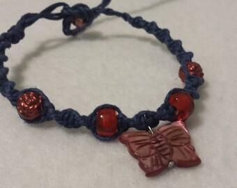 Butterfly Hemp Bracelet