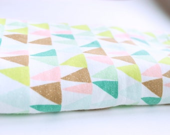 Green Trees Swaddle Blanket