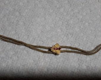 Wonderful Ladies watch necklace with slide.
