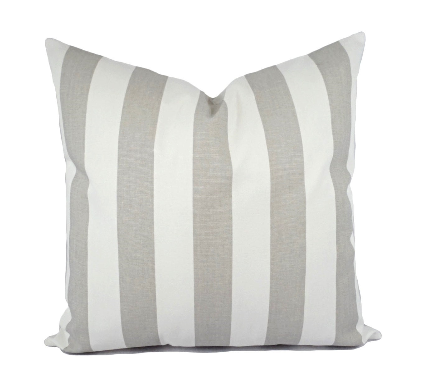 Two Grey and White Pillow Covers Grey Throw Pillow Grey