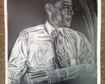 First Edition Obama print 12x18