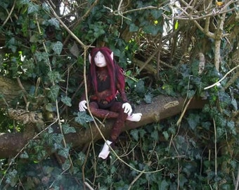 Art doll - Forest Elf