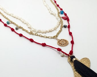 Layered Necklace by Karola & Co