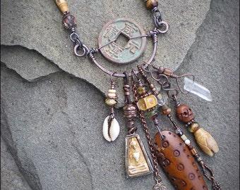 Shaman Protective Amulet Necklace