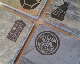 Dr. Who Coasters - Set of 4