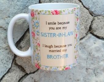 Funny Sister In Law Mug