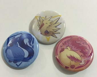 PokemonGo Inspired Buttons