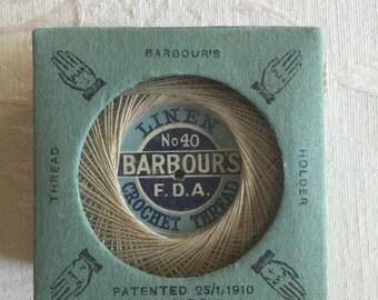 Barbours Crochet Linen Thread