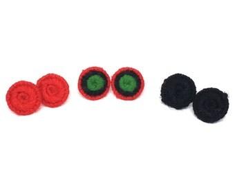 Button Stud Earring Bundles