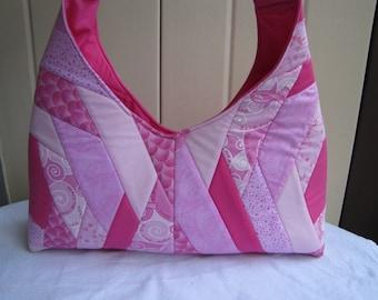 Quilted Pink Shoulder bag