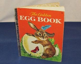 """Little GOLDEN BOOK 1962 – """"The Golden Egg Book"""" Marked """"D"""""""