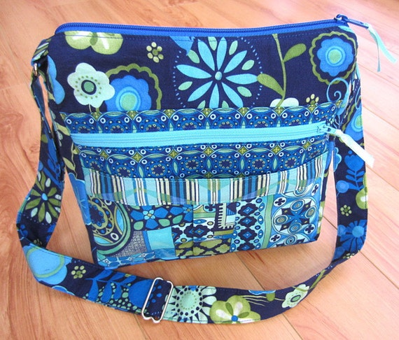 My Easy Going Purse PDF Sewing Pattern Tutorial by MyFunnyBuddy