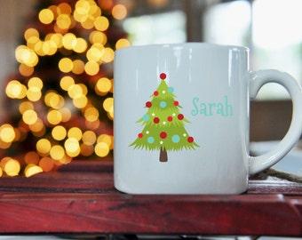 Christmas Tree Kid Size Mug