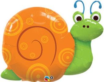 "36"" Snail foil balloon garden party decoration"