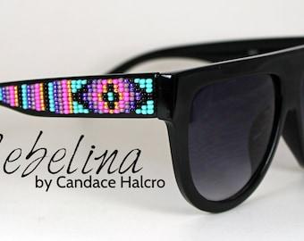 SALE Beaded Sunglasses Celine Turquoise