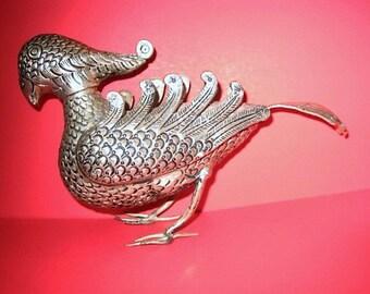Delightful Balinese Metal Bird