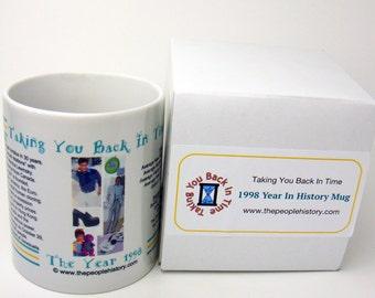 1998 Year In History Coffee Mug